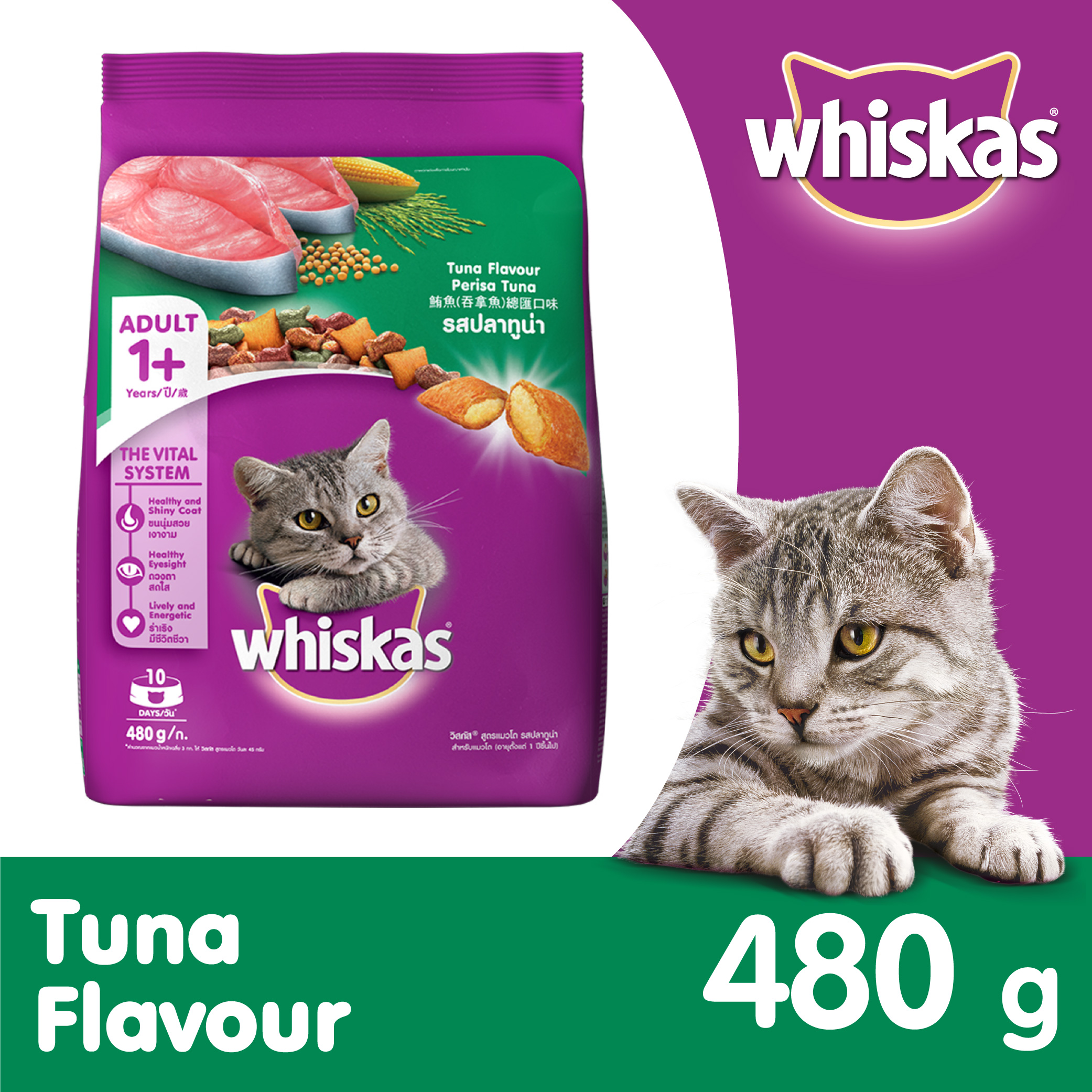 Tuna Only Dry Cat Food