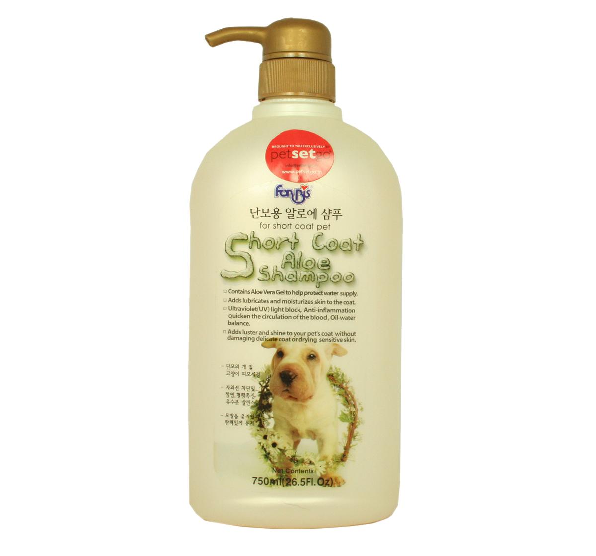 Short Coat Aloe Dog Shampoo 750 Ml Forbis