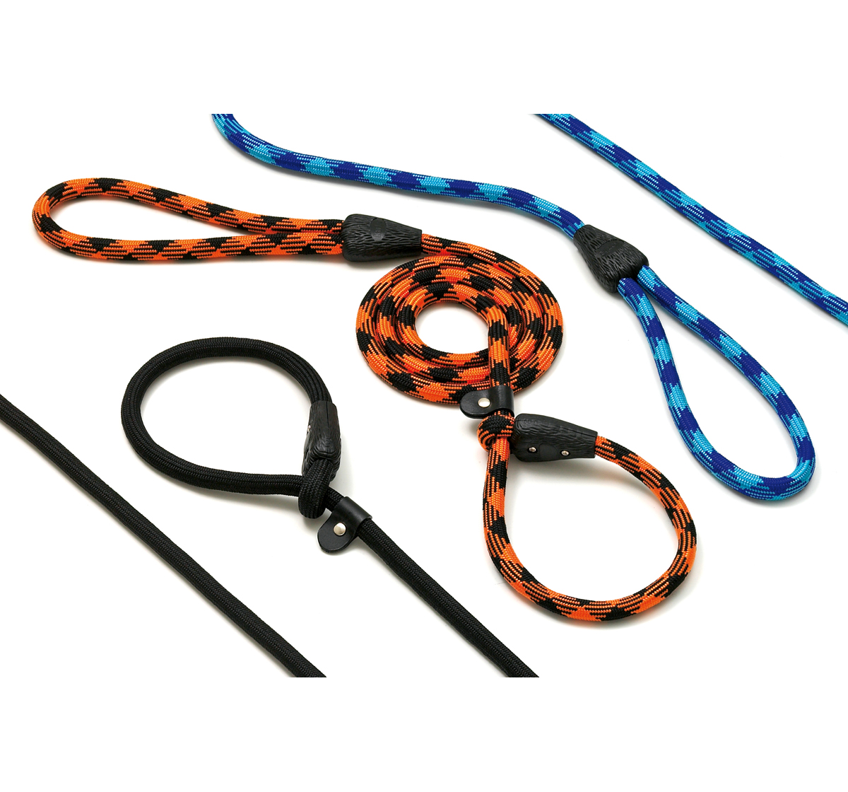 Allegro Easy Agility Leash 12mm 165cm Black - Light Blue Medium Karlie