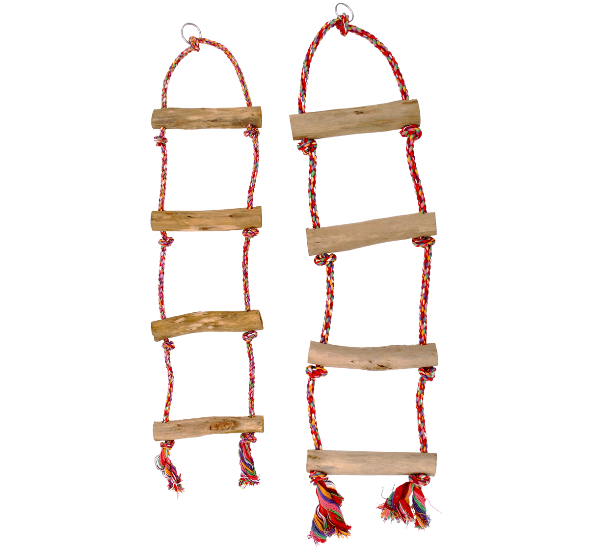 Cotton Rope Bird Ladder Medium Knot A Rope | DogSpot - Online Pet ... for Rope Ladder Knot  181pct