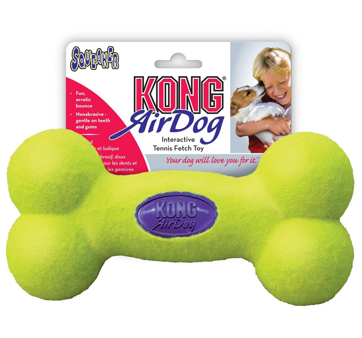 KONG Air Dog Squeaker Bone Medium