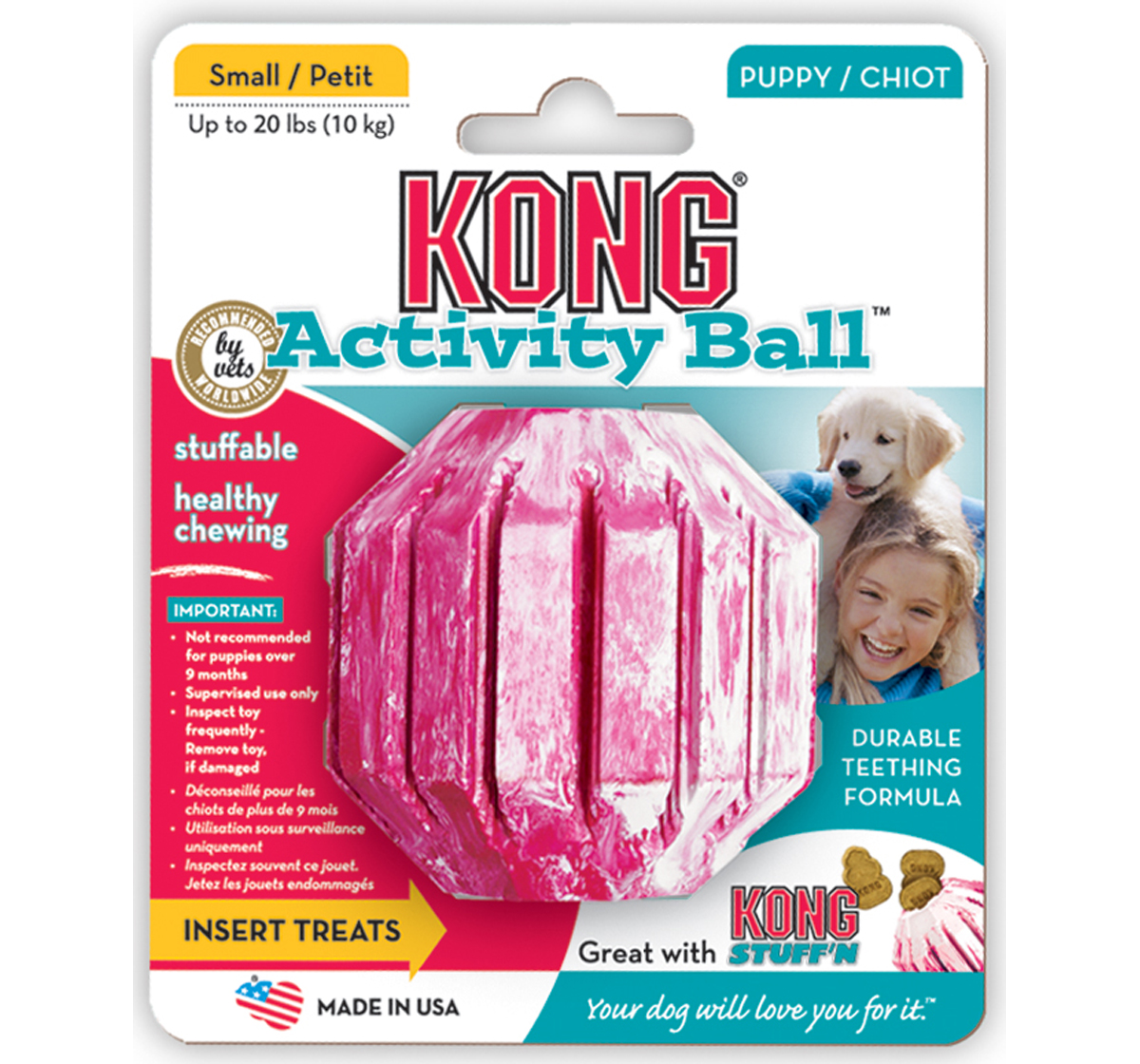 KONG Puppy Activity Ball Small