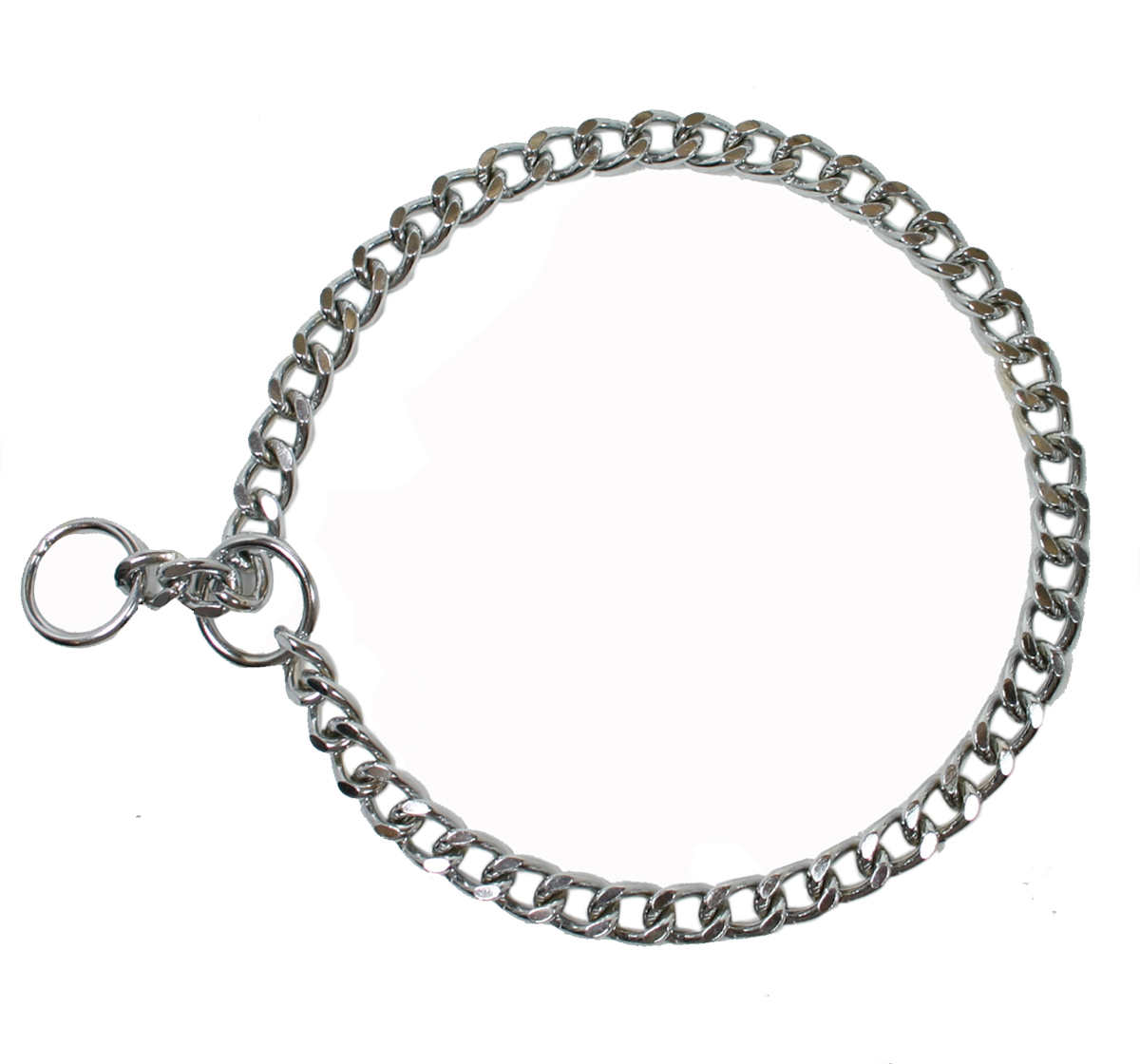 Dog Collar Choke Chain Thick 22 Inches   DogSpot - Online ...