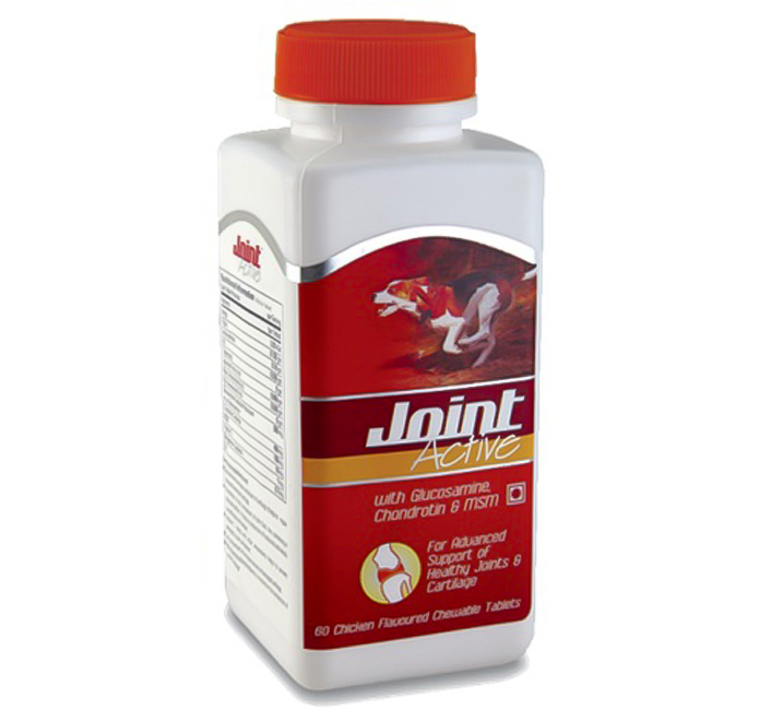Dog Joint Active Chicken Flavored 60 Tablets