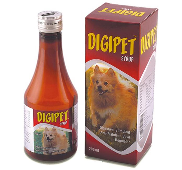 Digipet Digestive Dog Syrup 200 Ml