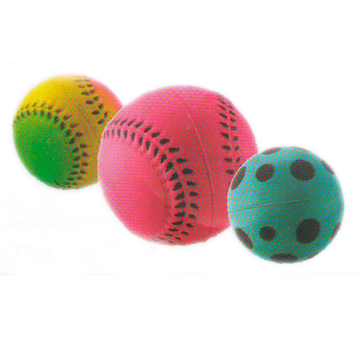 Pet Rubber Ball - M