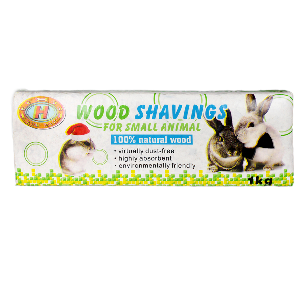 Natural wood shavings woodchips for small animals kg
