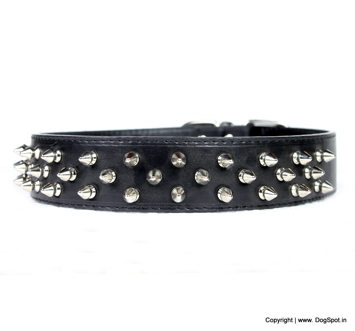 Dog Collar With Spikes- Large