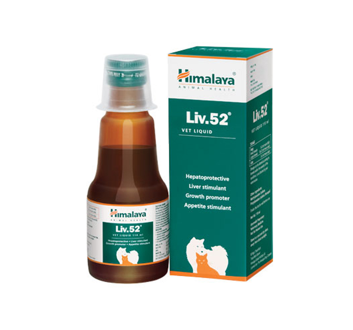 Himalaya Liv.52 Liver Support Supplement For Dog & Cat - 30 ml