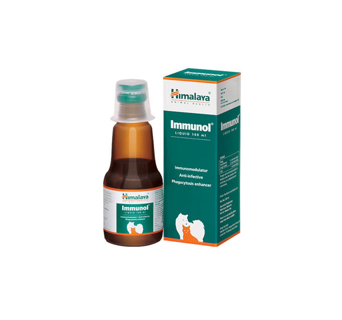 Himalaya Immunol Supplement For Dog & Cat - 100 ml