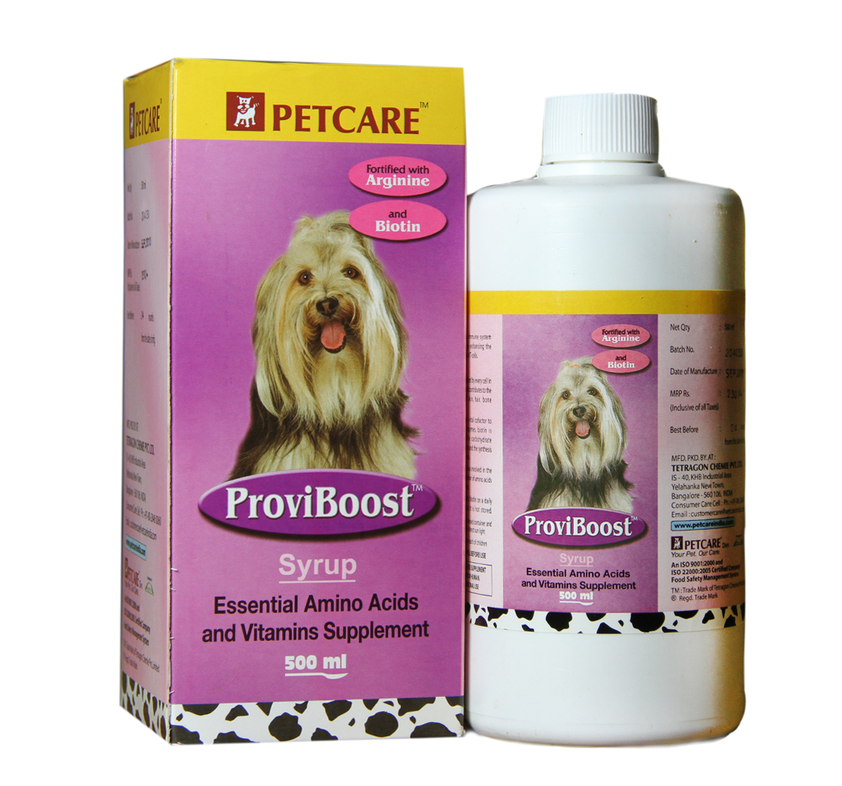 Proviboost Syrup Supplement For Dog - 500 ml