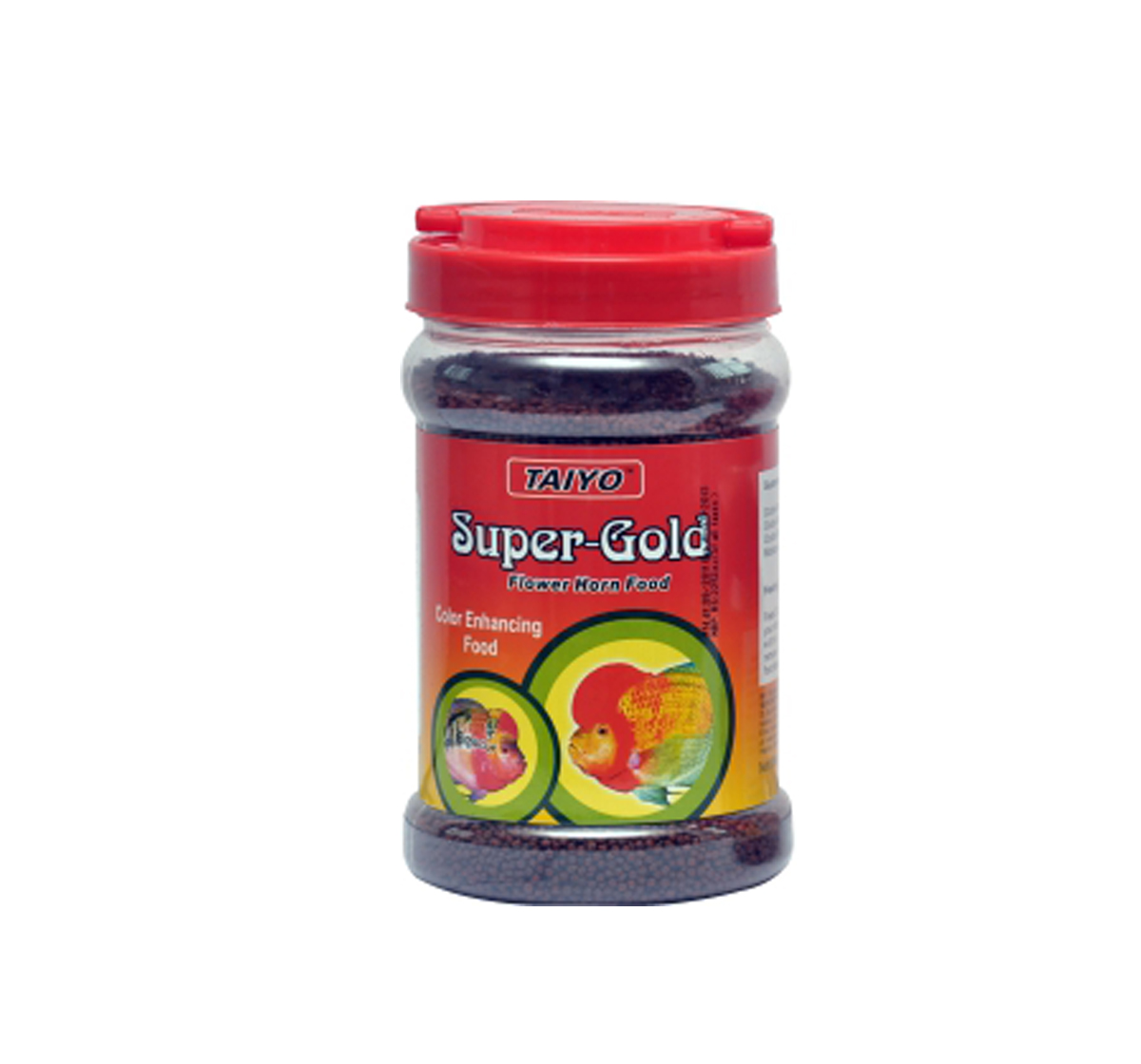 TAIYO Super Gold Flowerhorn Fish Food - 360 gm | DogSpot - Online ...