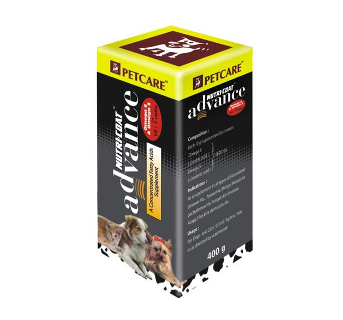 Nutricoat Advance Supplement For Dog - 400 ml