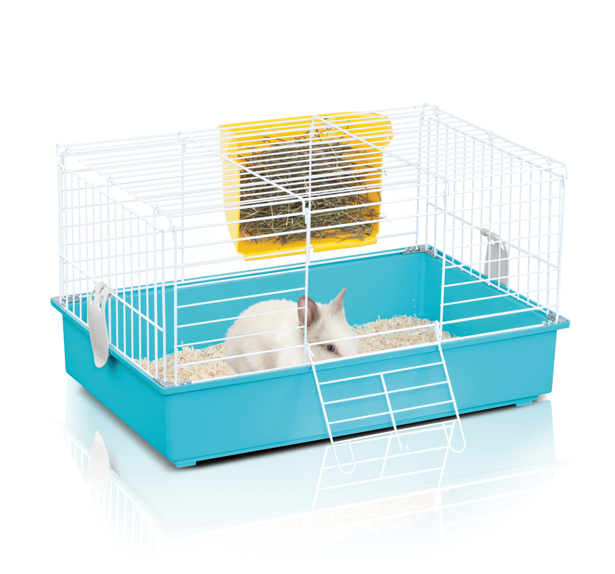 Imac cavia 3 guinea pig rabbit cage lxwxh 24x16x14 for Guinea pig and cage for sale