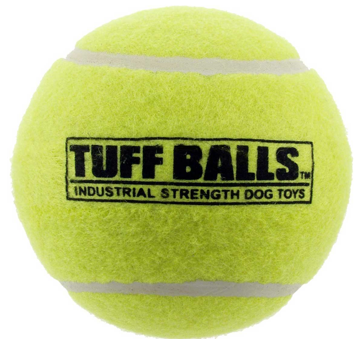 PETSPORT Jr. Tuff Balls Dog Toy - 2 Pack