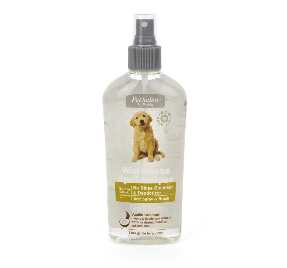 Petkin Waterless Spa Shampoo Vanilla Coconut For Puppies - 250 ml