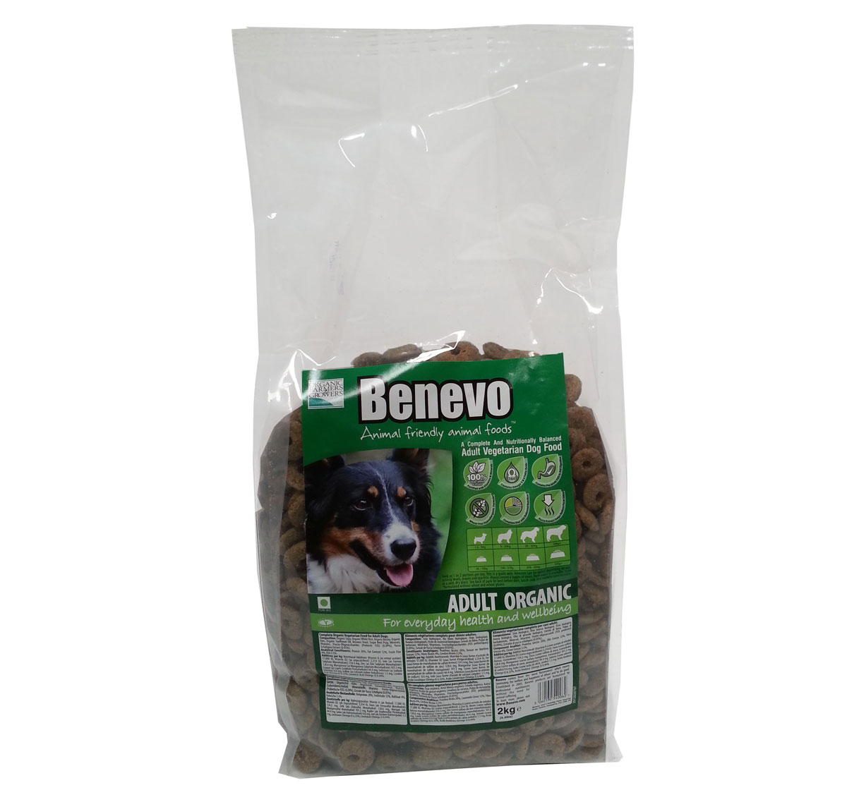 Benevo Vegetarian Organic Adult Dog Food - 2kg