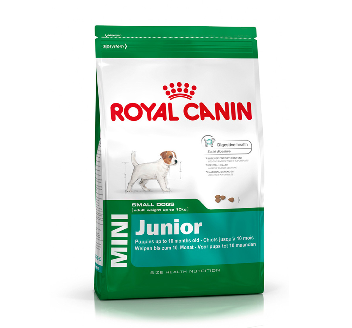 royal canin mini junior 4 kg dogspot online pet supply store. Black Bedroom Furniture Sets. Home Design Ideas