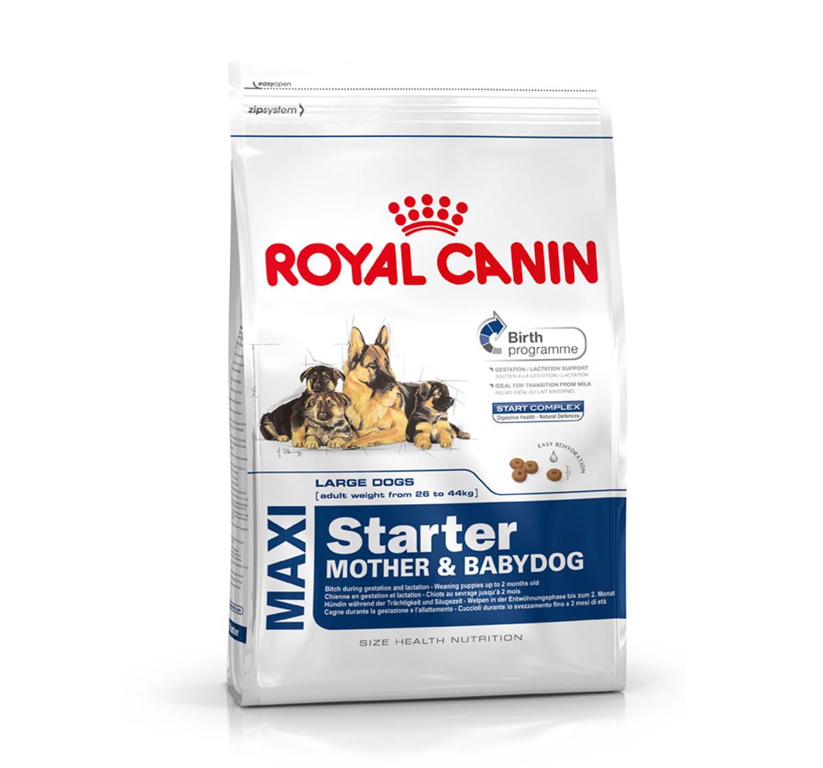 royal canin maxi starter 15 kg dogspot online pet supply store. Black Bedroom Furniture Sets. Home Design Ideas