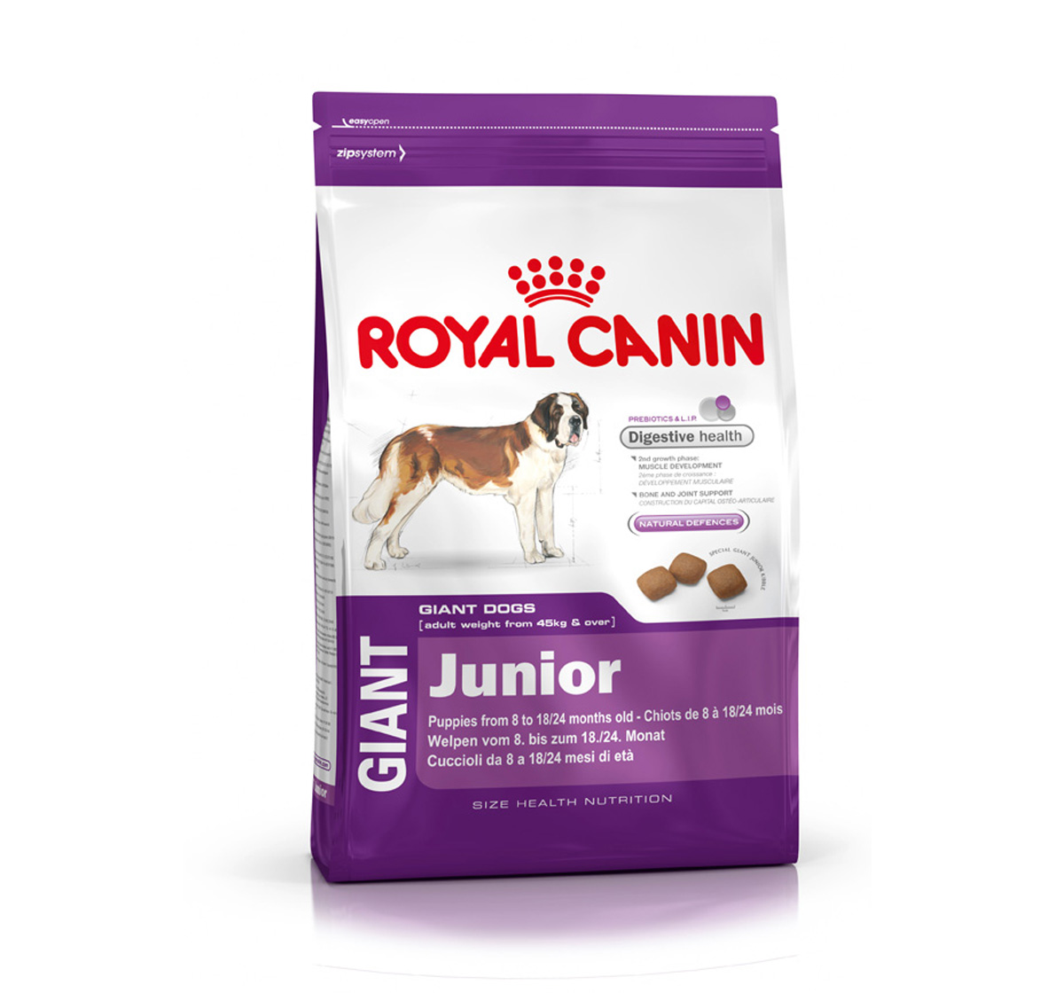 royal canin giant junior 15 kg dogspot online pet supply store. Black Bedroom Furniture Sets. Home Design Ideas