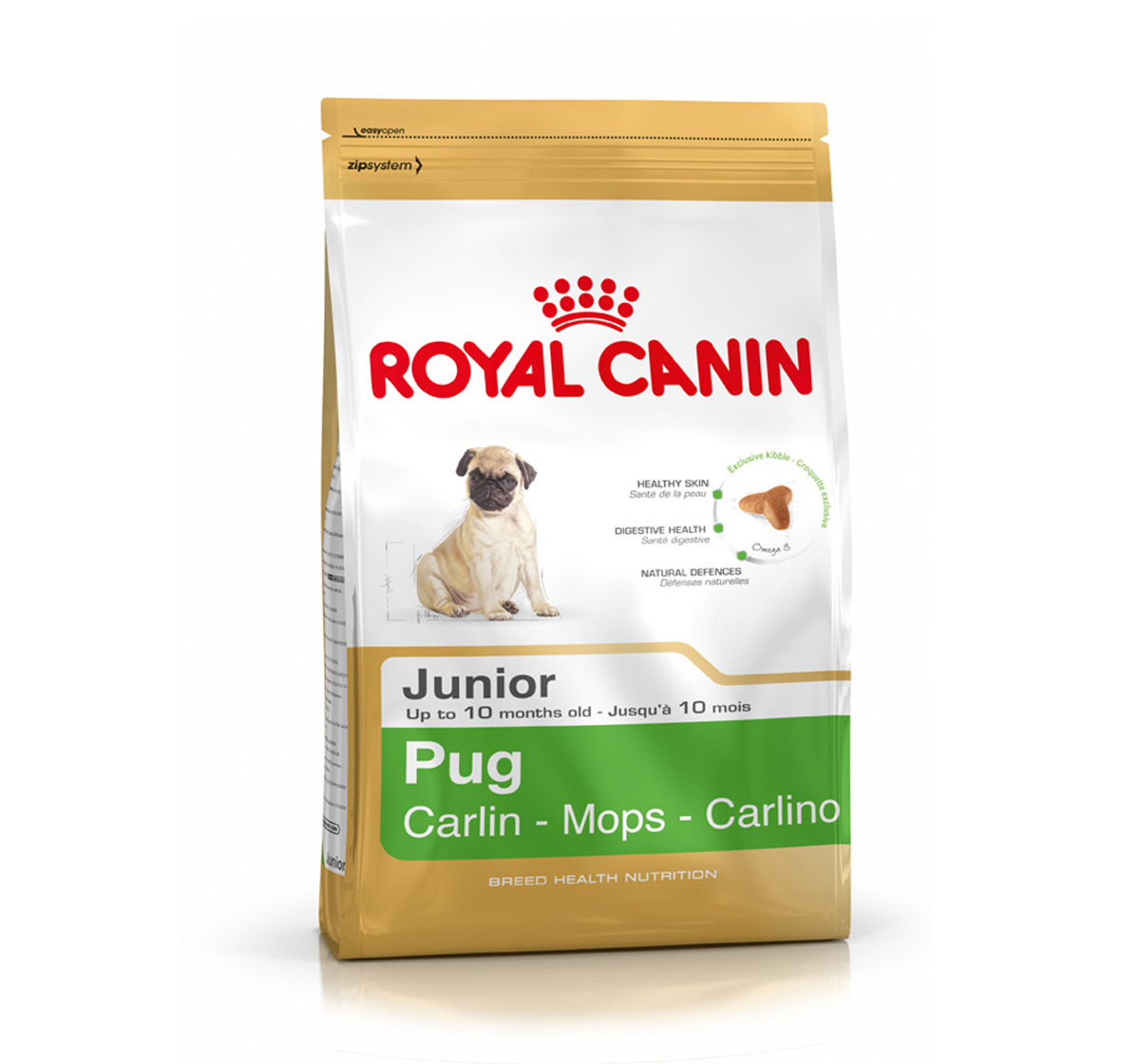 Royal Canin Pug Junior - 1.5 Kg
