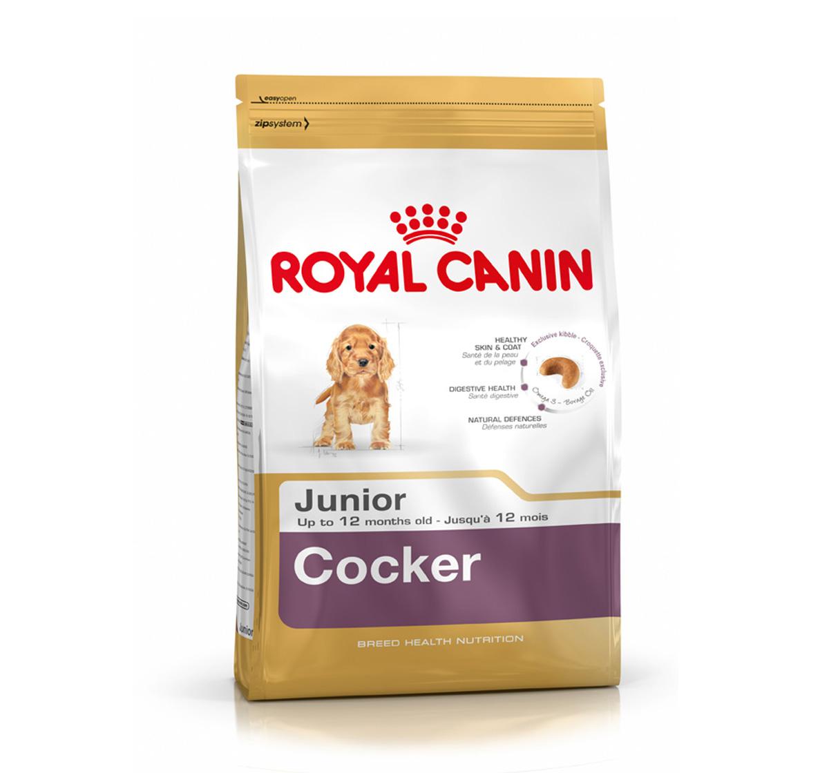 royal canin cocker junior 3 kg dogspot online pet. Black Bedroom Furniture Sets. Home Design Ideas