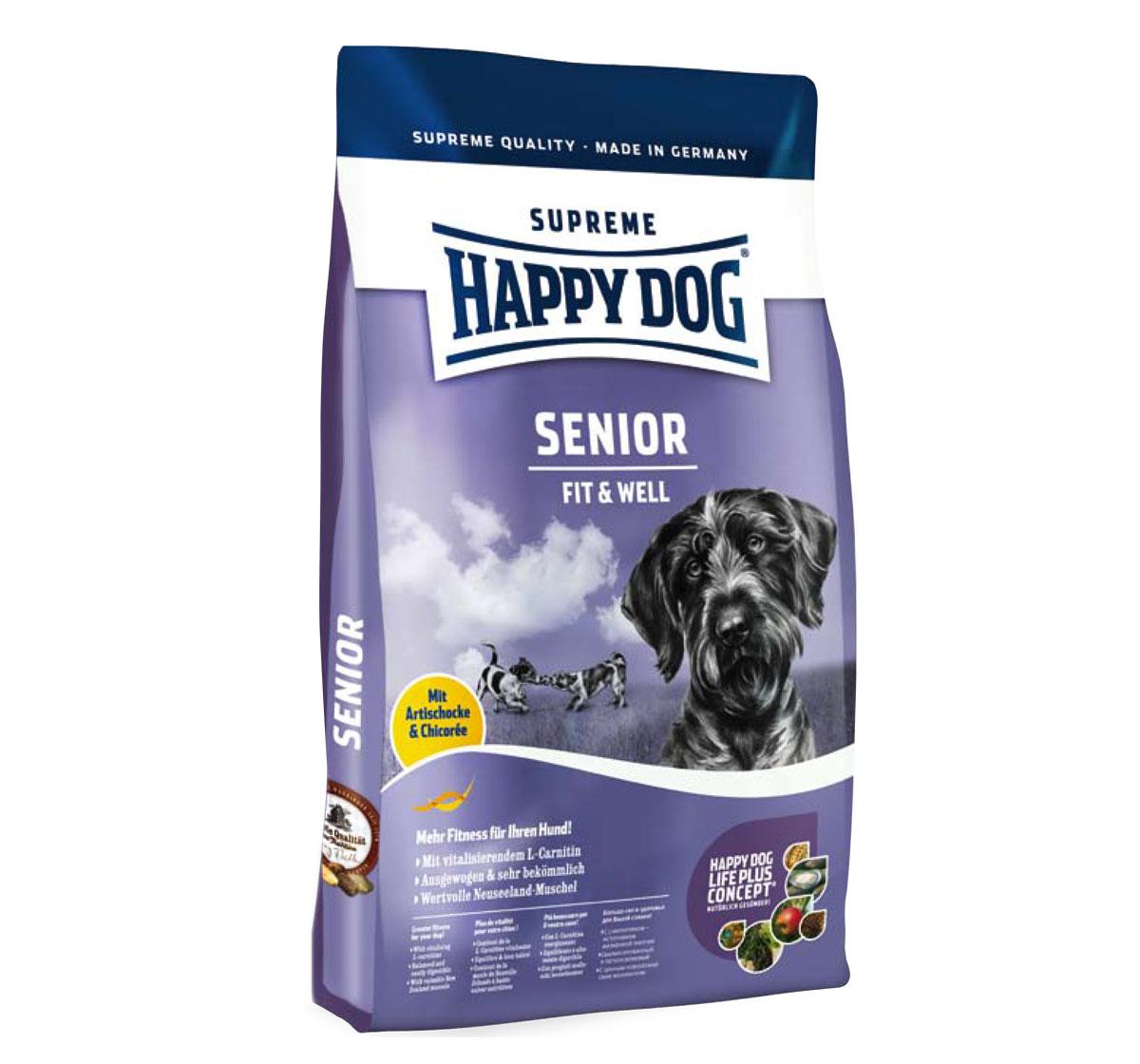 happy dog senior dog food 1 kg dogspot online pet supply store. Black Bedroom Furniture Sets. Home Design Ideas