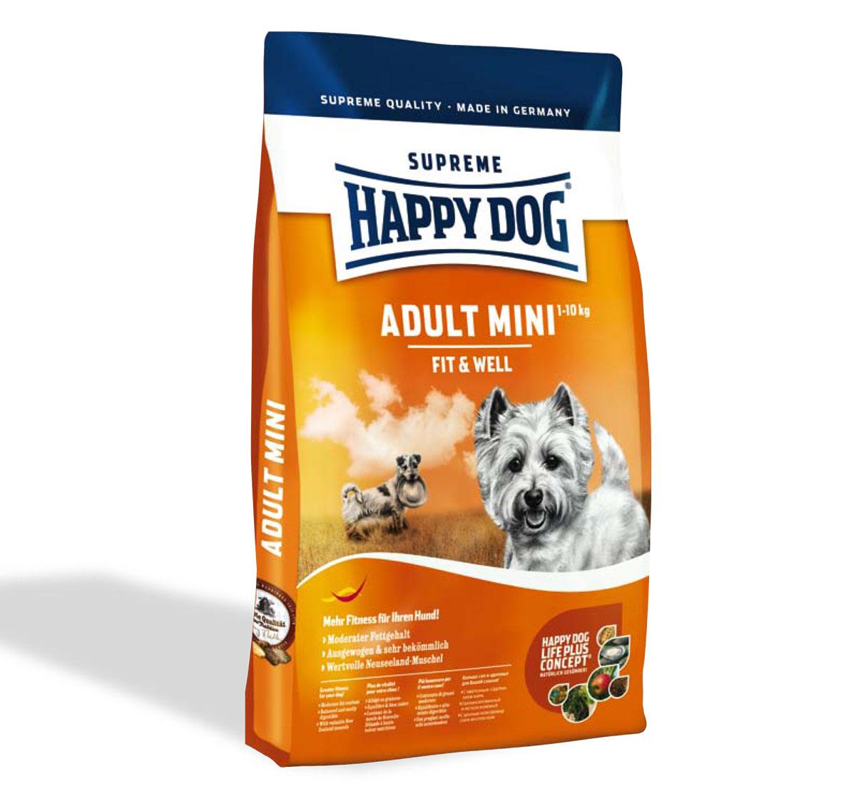 Happy Dog Mini Breed Adult Dog Food 4 Kg | DogSpot ... - photo#38