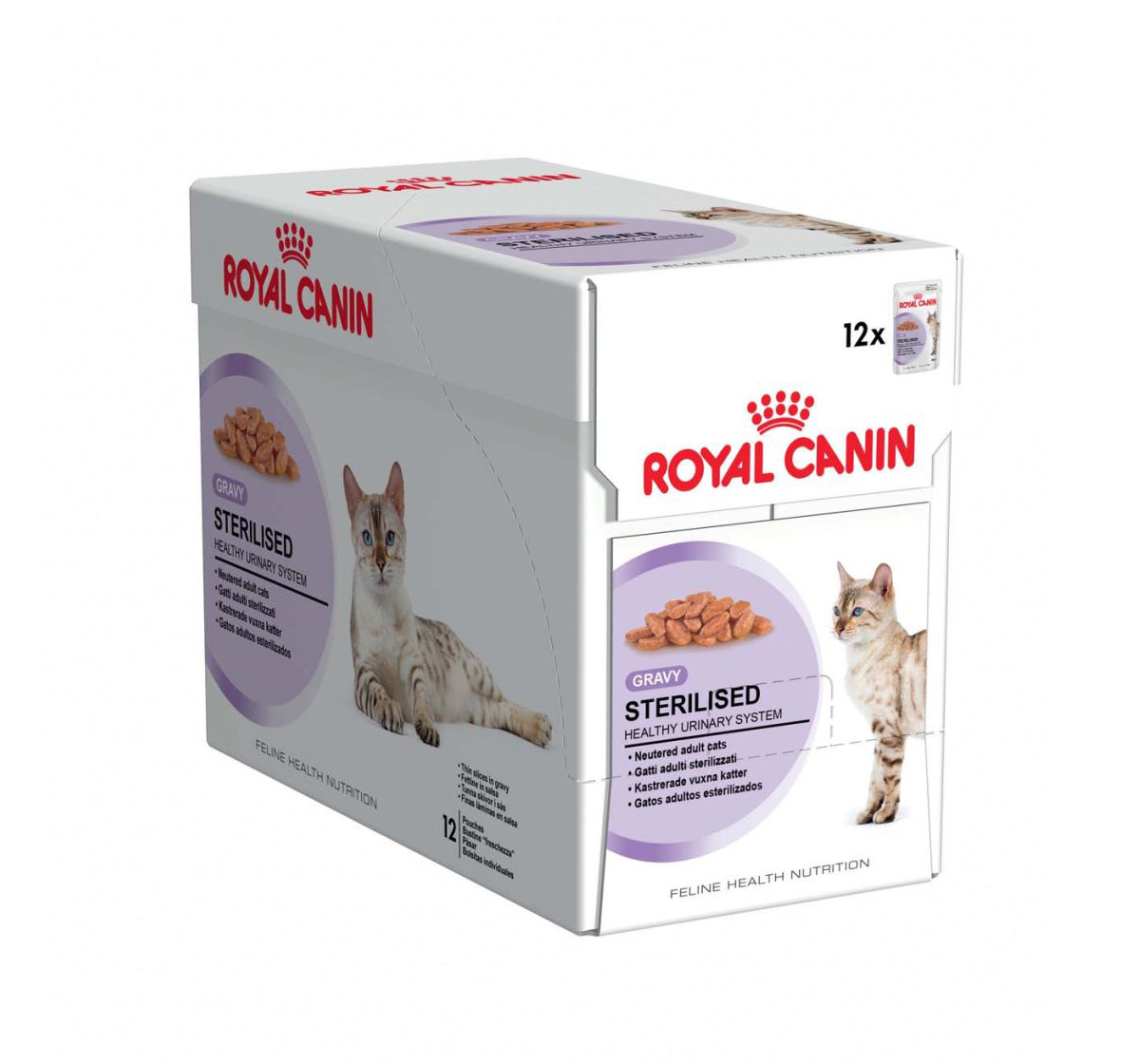 royal canin gravy sterilised cat food kg dogspot online pet supply store. Black Bedroom Furniture Sets. Home Design Ideas