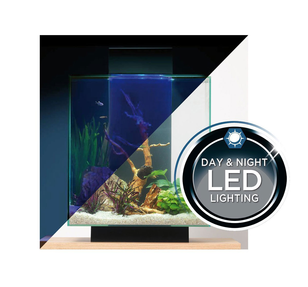 fluval edge aquarium set led black 46ltr aquariums fluval online fish shop buy fish. Black Bedroom Furniture Sets. Home Design Ideas