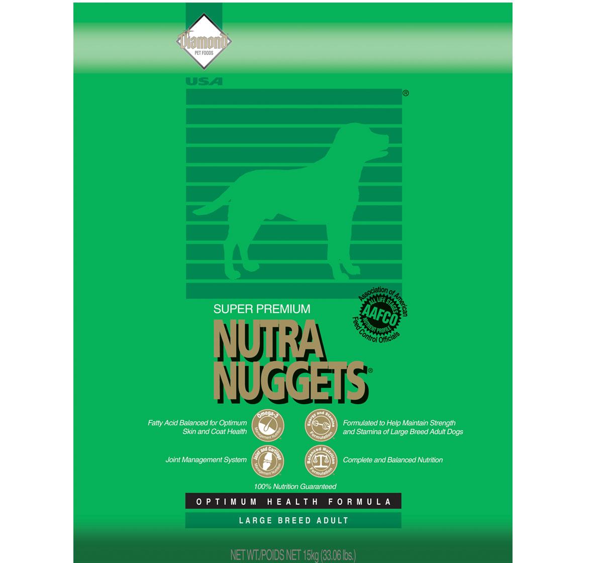 Nutra Nuggets Large Breed Puppy Food 15 Kg Dogspot