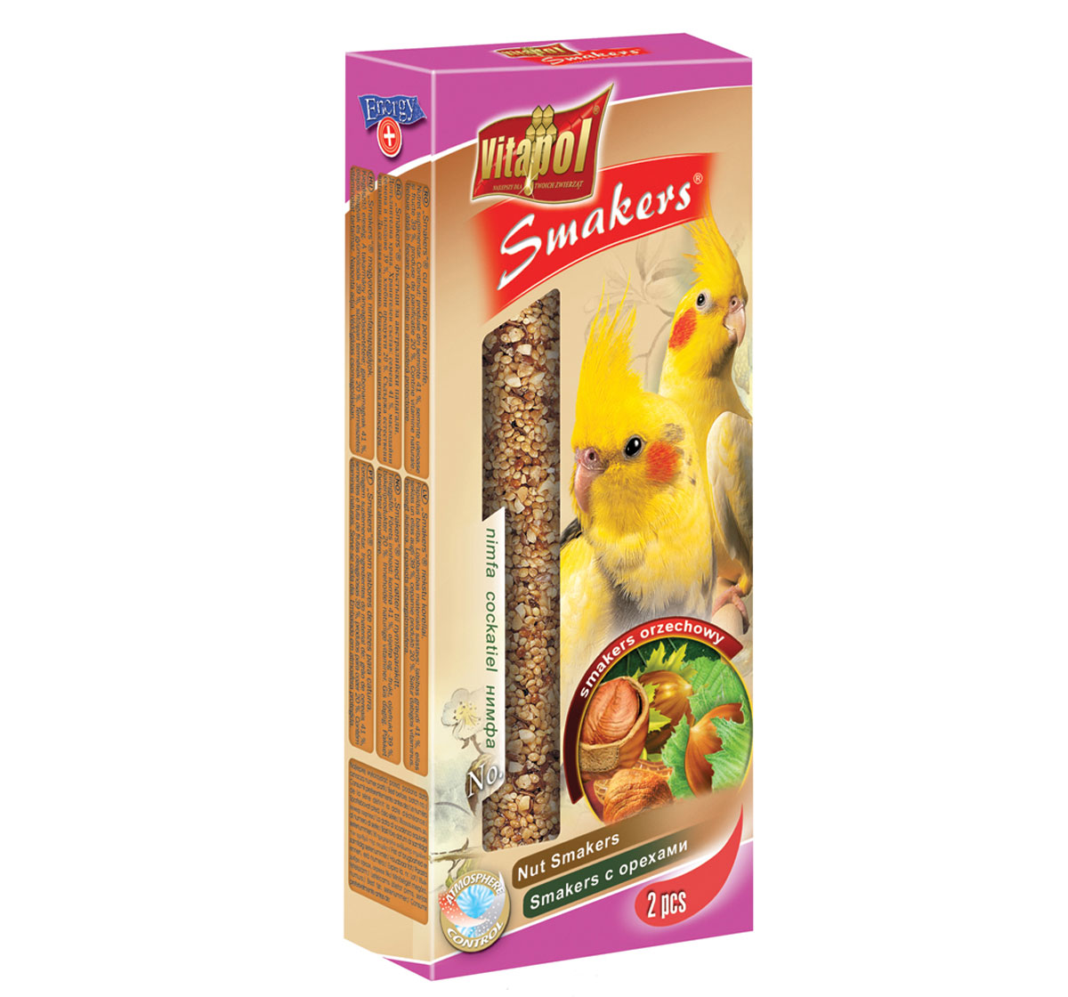 Vitapol Nut Smakers For Cockatiel - 90 Gm