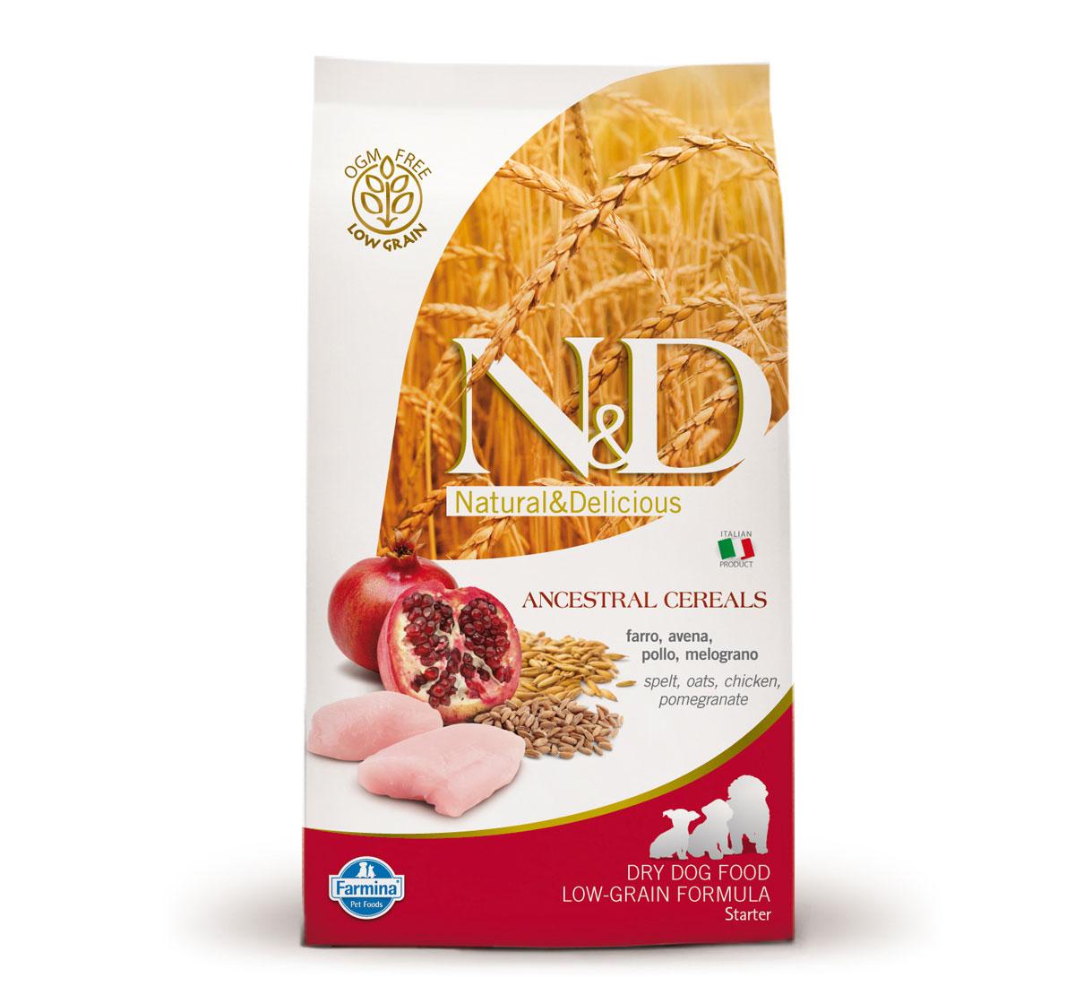 Farmina N&D Dry Dog Food Chicken & Pomegranate Starter Puppy - 12 kg