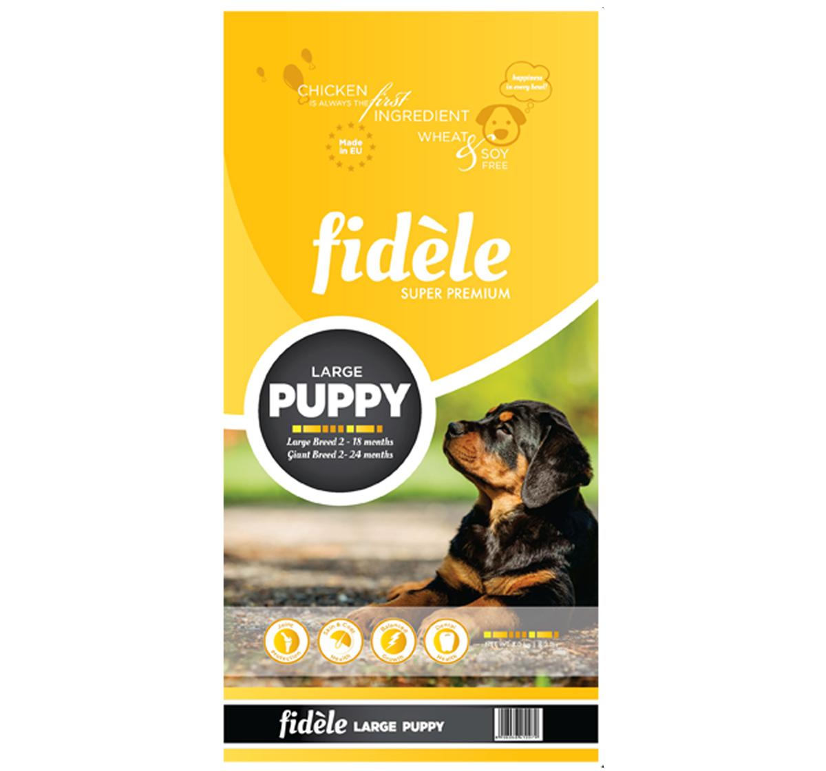 Fidele Large Breed Puppy Food - 4 kg