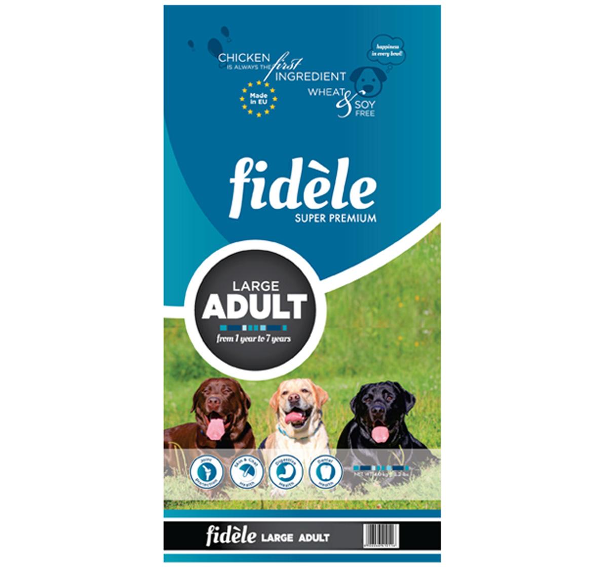 Fidele Large Breed Adult Food - 4 kg