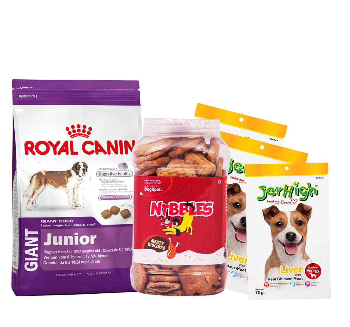 Royal Canin Giant Junior - 15 Kg With Treats & Biscuit