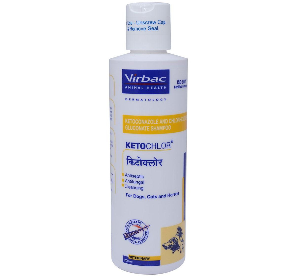 Virbac Ketochlor Shampoo - 200 ml
