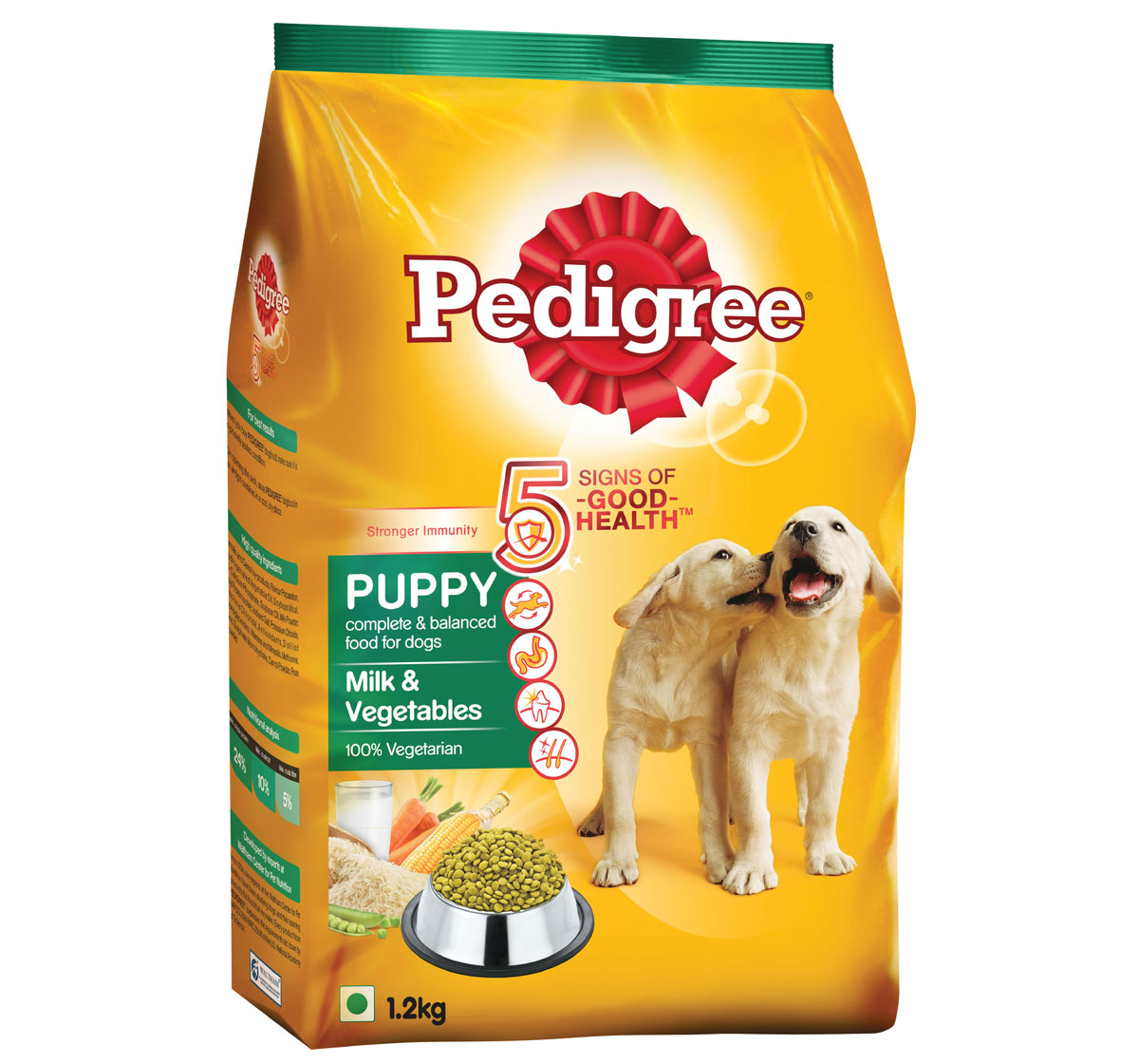 Pedigree Puppy Milk Vegetables Dog Food 1 2 Kg Dogspot