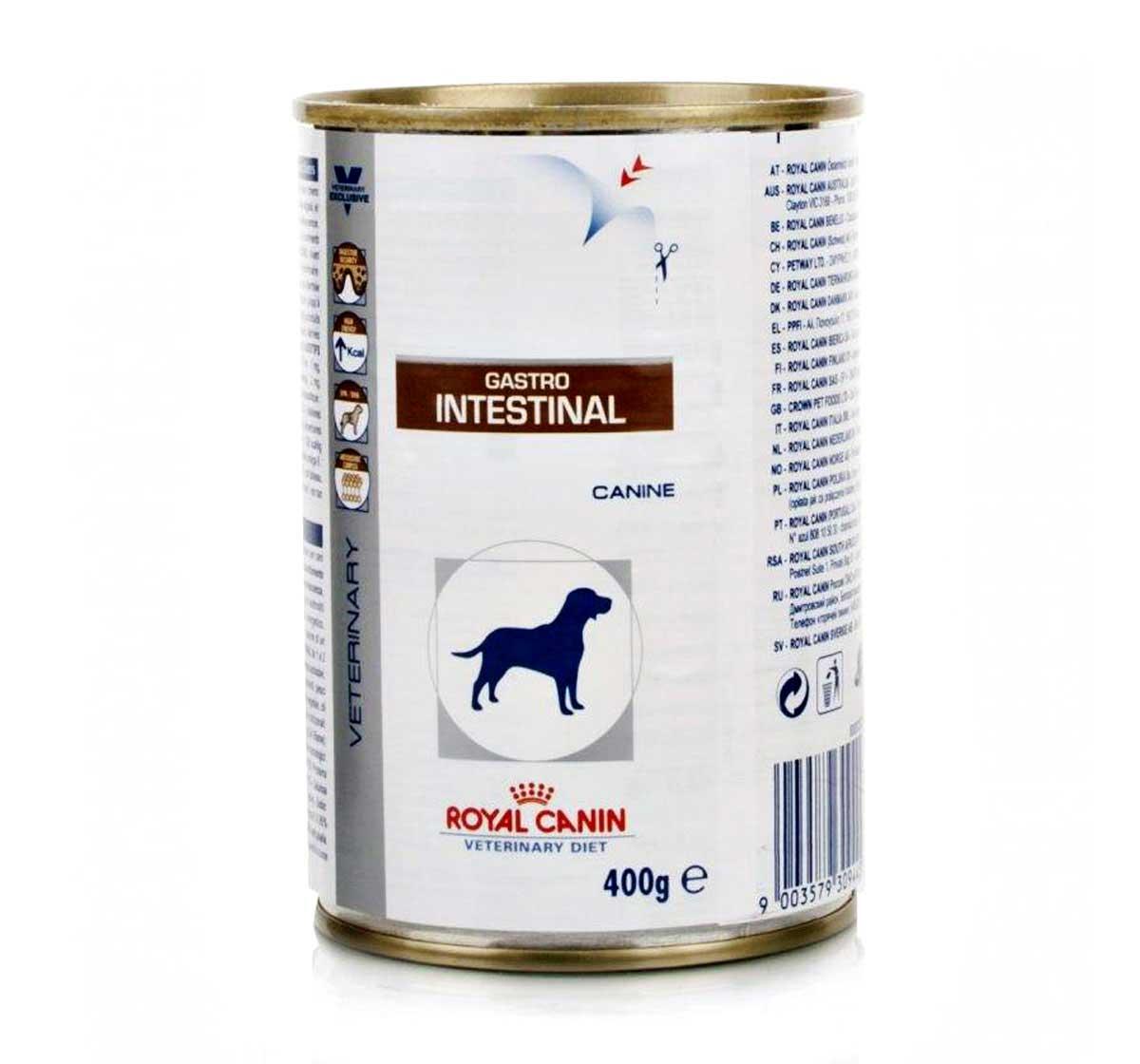 royal canin veterinary diet intestinal dog canned food 400 gm prescription dog food. Black Bedroom Furniture Sets. Home Design Ideas