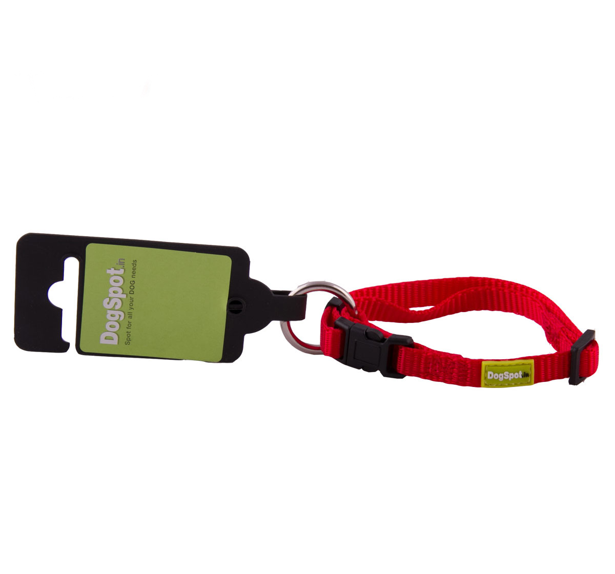DogSpot Premium Adjustable Collar Red 10 mm - Xsmall