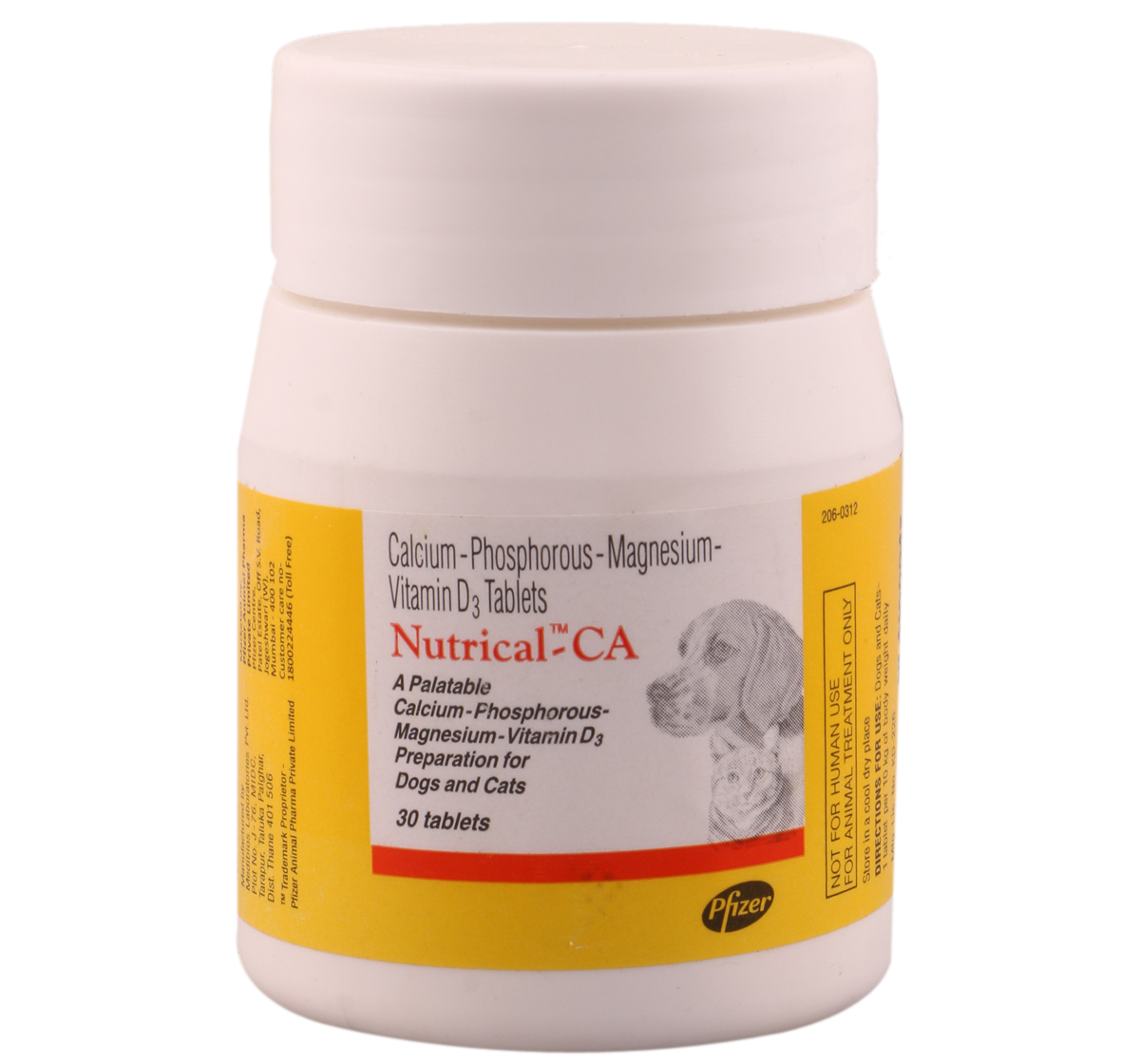 Pfizer Nutrical - CA Calcium Supplement - 30 Tablet