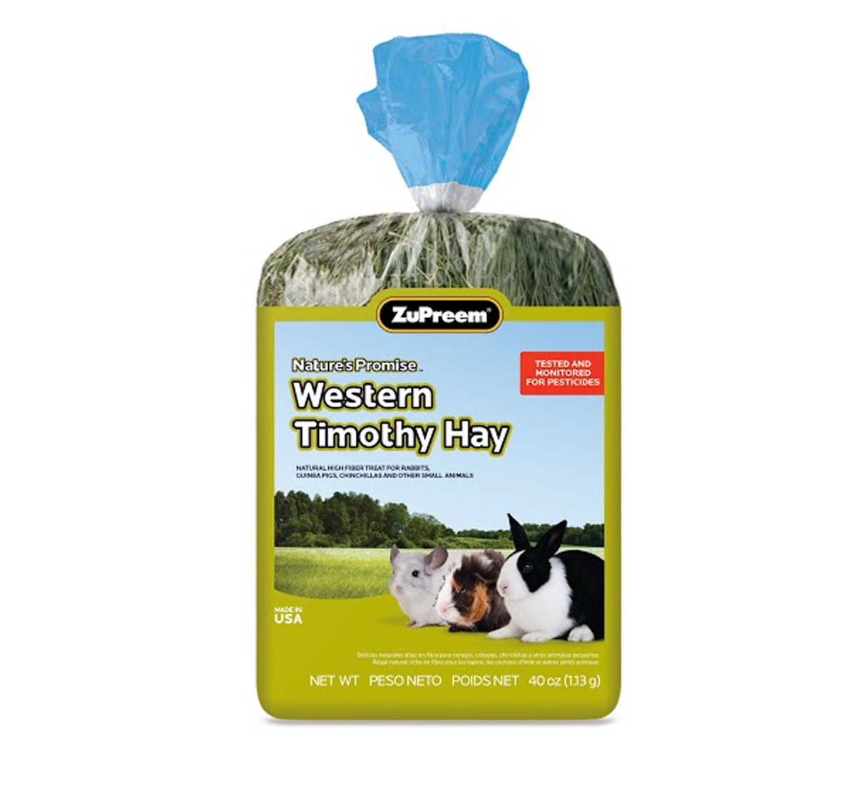 ZuPreem Natures Promise Western Timothy Hay - 397 gm