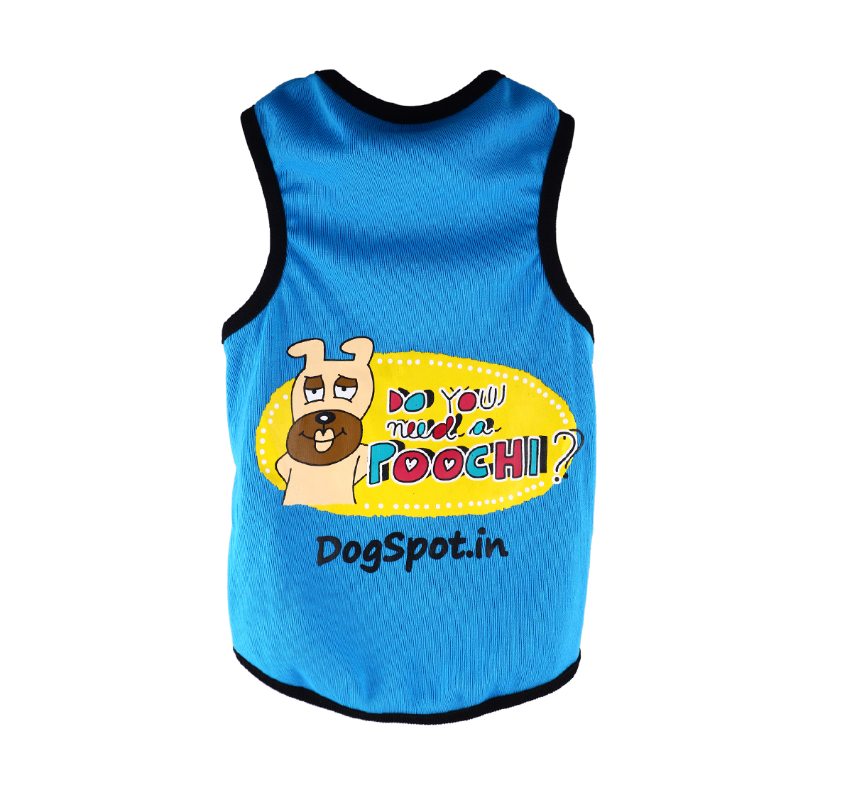 DogSpot Need a Poochie T- Shirt -Size 20