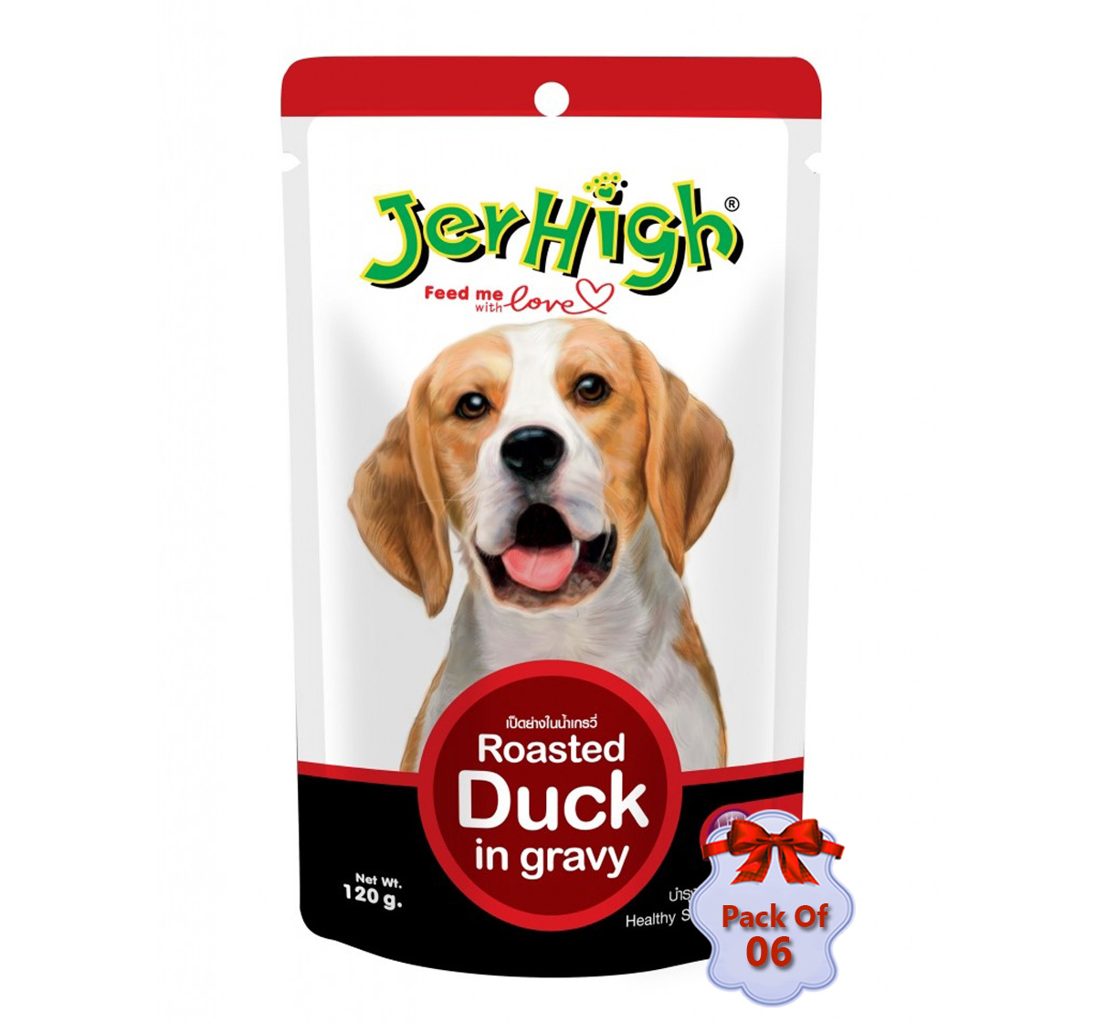 Jerhigh Roasted Duck In Gravy - 120 gm (Pack Of 6)