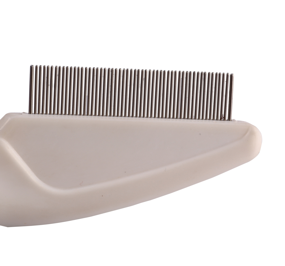 DogSpot Flea comb With Non - Slip Rubber Grip Handle