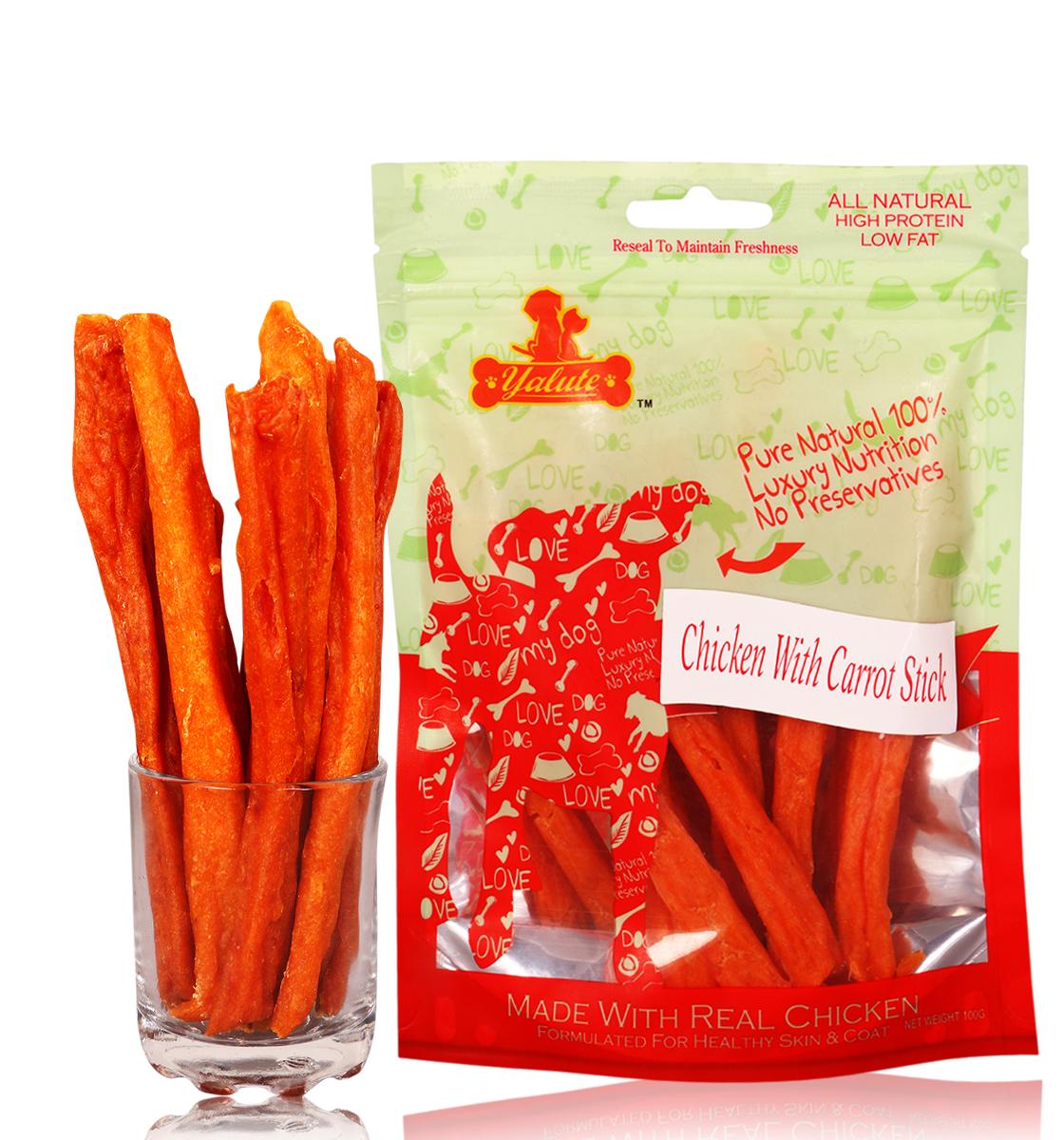 Yalute Chicken & Carrot Sticks - 100 gm (3+2)