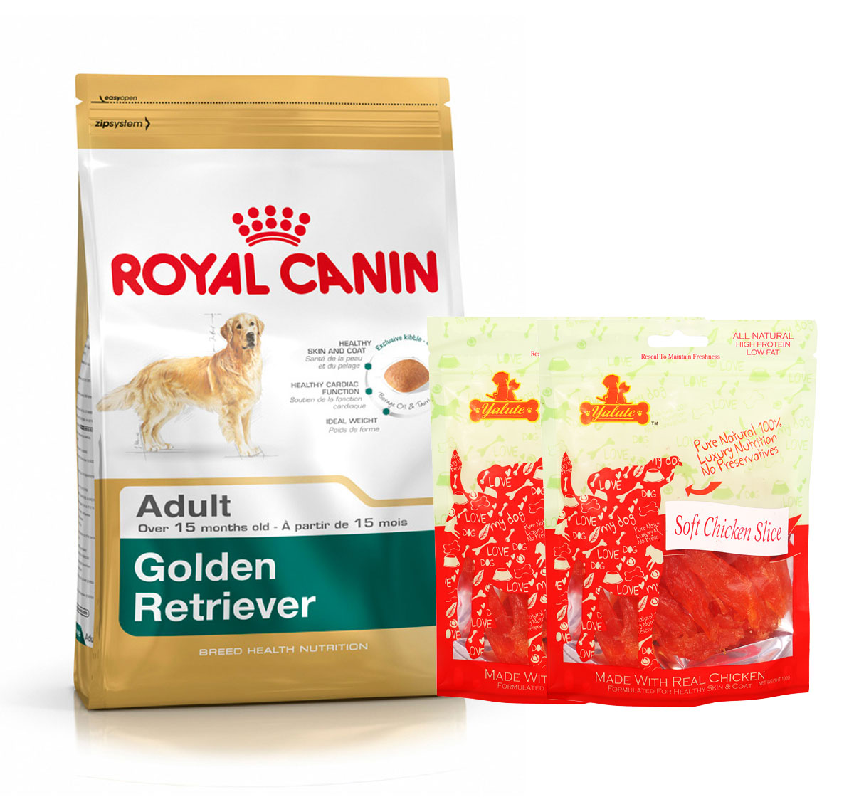 Royal Canin Golden Retriever Adult - 3 Kg  With Chicken Slices