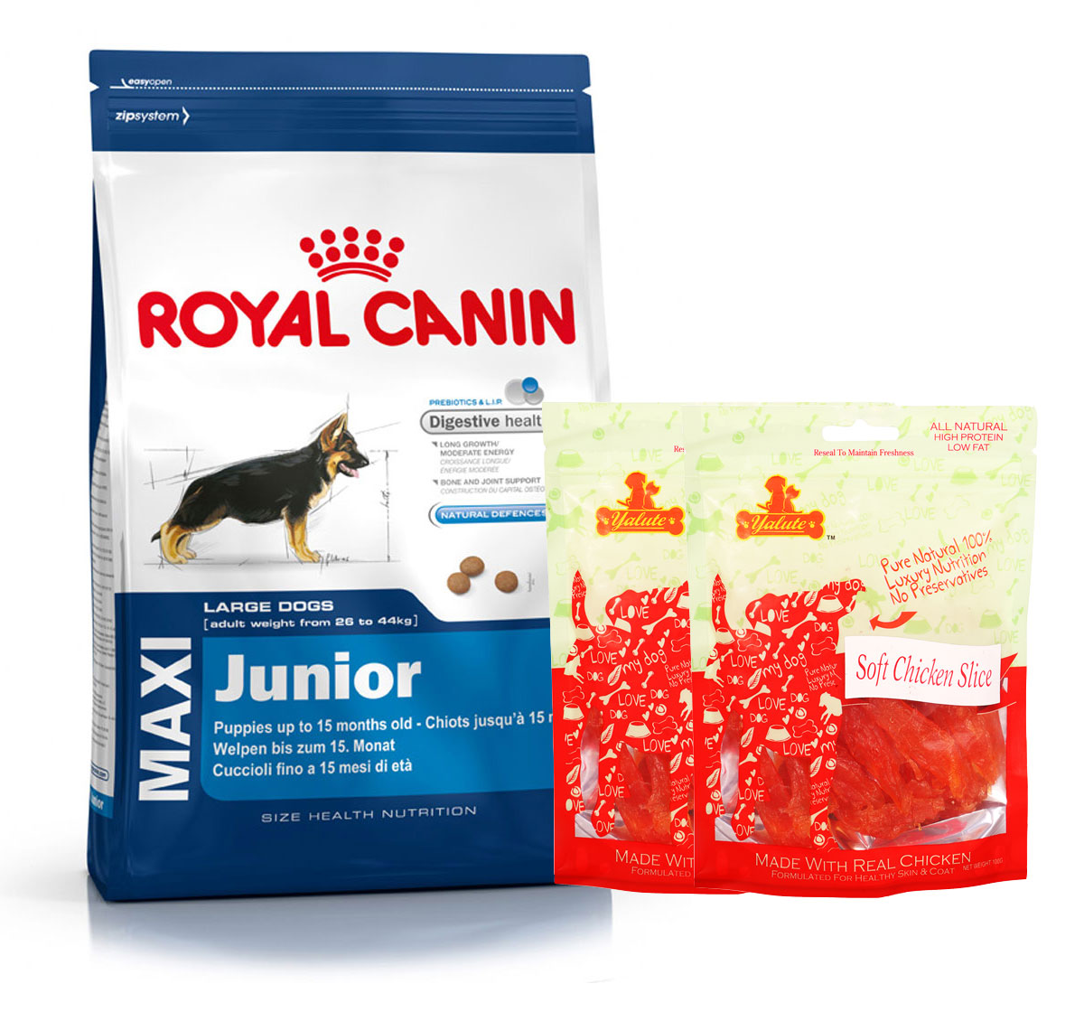 royal canin maxi junior 4 kg with chicken slices. Black Bedroom Furniture Sets. Home Design Ideas