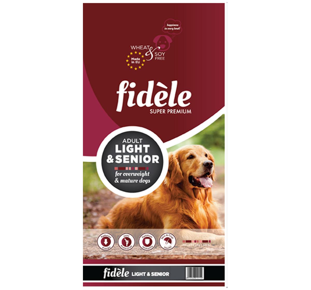 Fidele Light & Senior Adult Food - 1 Kg