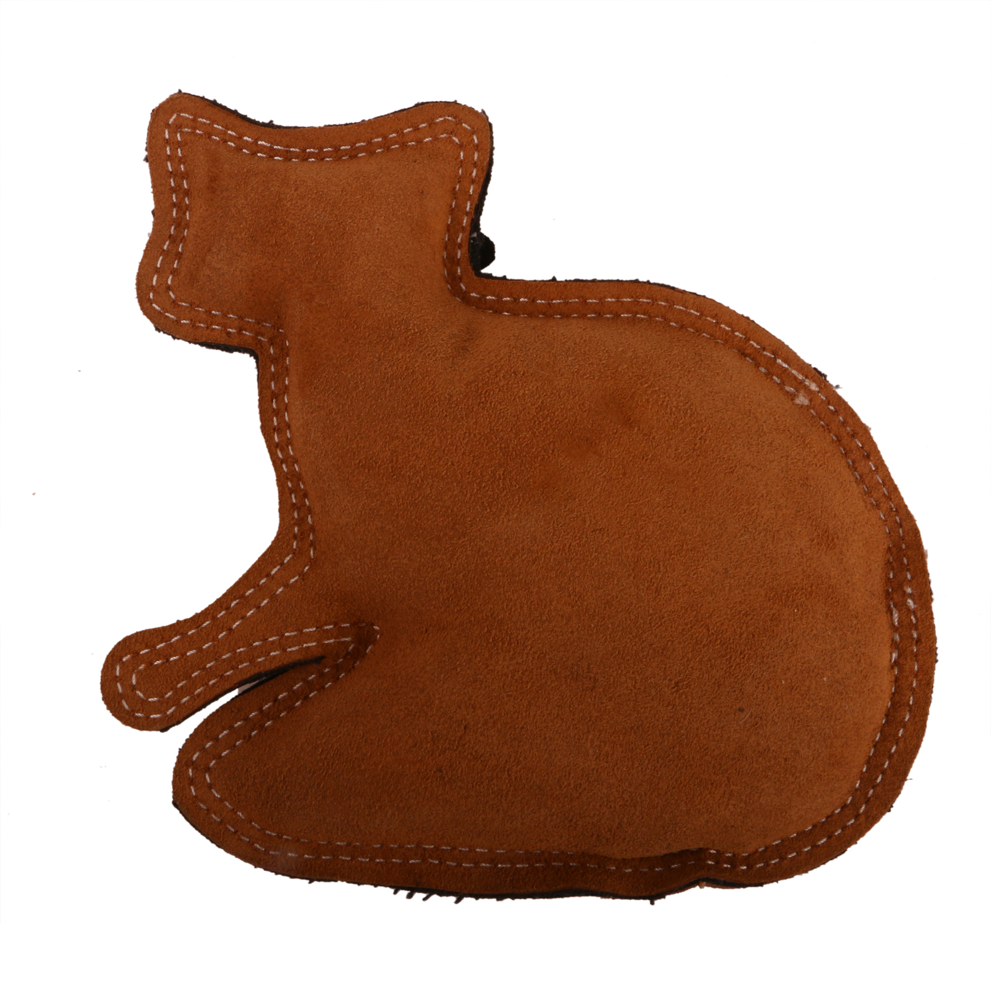 DogSpot Dura Fused Leather Racoon Dog Toy